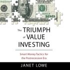 The Triumph Value Investing: Smart Money Tactics for the Post-Recession Era Cover Image