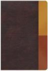 RVR 1960 Biblia de Estudio Arcoiris, cocoa/ terracota símil piel con índice Cover Image
