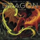 Llewellyn's 2021 Dragon Calendar Cover Image