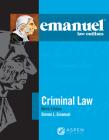 Emanuel Law Outlines for Criminal Law Cover Image