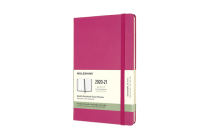 Moleskine 2020-21 Weekly Planner, 18M, Large, Bougainvillea Pink, Hard Cover (5 x 8.25) Cover Image