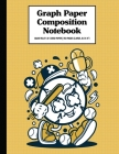 Graph Paper Composition Notebook Quad Rule 5x5 Grid Paper - 150 Sheets (Large, 8.5 x 11