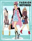 Fashion Sketchbook: 196 Figure Templates for Designing Looks and Building Your Portfolio (Fashion Sketch) Cover Image