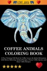 Coffee Animals Coloring Book Cover Image