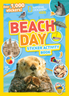 National Geographic Kids Beach Day Sticker Activity Book Cover Image
