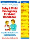 Baby And Child Emergency First-Aid Handbook Cover Image