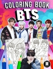 BTS Coloring Book: Bangtan Boys Jumbo Coloring Book With Unofficial Super Cool Images for All Ages Cover Image