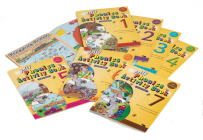 Jolly Phonics Activity Books 1-7: In Print Letters (American English Edition) Cover Image