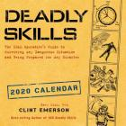 Deadly Skills 2020 Wall Calendar Cover Image