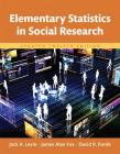 Elementary Statistics in Social Research, Updated Edition -- Books a la Carte Cover Image