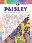 Creative Haven Paisley: Designs with a Splash of Color (Creative Haven Coloring Books) Cover Image
