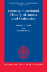 Density-Functional Theory of Atoms and Molecules Cover Image