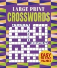 Large Print Crosswords Cover Image