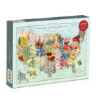 Wendy Gold USA State Flowers 1000 Piece Puzzle Cover Image