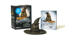 Harry Potter Talking Sorting Hat and Sticker Book: Which House Are You? (Miniature Editions) Cover Image