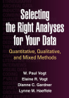 Selecting the Right Analyses for Your Data: Quantitative, Qualitative, and Mixed Methods Cover Image