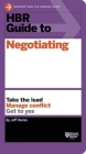 HBR Guide to Negotiating Cover Image