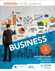 Edexcel Business a Level Year 1 Cover Image