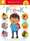 All About Pre-K Workbook: Scholastic Early Learners (Workbook) Cover Image