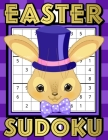 Easter Sudoku: Sudoku Puzzles Game Book with Solutions for Kids, Teens, Adults, Seniors - One Puzzle Per Page - Perfect Easter Basket Cover Image