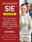 SIE Exam Prep: SIE Test Prep and Practice Test Questions for the FINRA Securities Industry Essentials Exam [2nd Edition] Cover Image