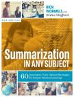 Summarization in Any Subject: 60 Innovative, Tech-Infused Strategies for Deeper Student Learning Cover Image