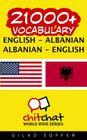 21000+ English - Albanian Albanian - English Vocabulary Cover Image
