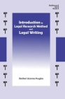 Introduction to Legal Research Method and Legal Writing Cover Image