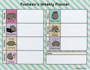 Pusheen Weekly Planner Desk Pad Cover Image