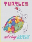 Turtels coloring book: Tortoise & Turtle For Adults And Kids - sea turtles - Stress-relief Cover Image