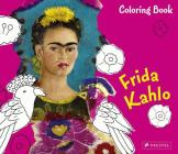 Coloring Book Frida Kahlo (Coloring Books) Cover Image