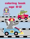 Coloring Book Age 8-12: Funny Image age 2-5, special Christmas design Cover Image