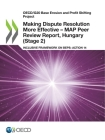 Oecd/G20 Base Erosion and Profit Shifting Project Making Dispute Resolution More Effective - Map Peer Review Report, Hungary (Stage 2) Inclusive Frame Cover Image