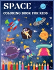 space coloring book for kids: Outer Space Power Panel Coloring Book 8.5