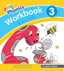 Jolly Phonics Workbook 3: In Print Letters (American English Edition) Cover Image