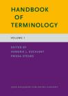 Handbook of Terminology: Volume 1 Cover Image