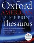 The Oxford American Large Print Thesaurus Cover Image