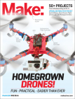 Make: Technology on Your Time, Volume 37: Drones Take Off! Cover Image
