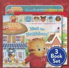 Daniel Tiger Shrink-Wrapped Pack #1: Goodnight, Daniel Tiger; Meet the Neighbors!; Welcome to the Neighborhood (Daniel Tiger's Neighborhood) Cover Image