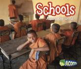 Schools Around the World (Around the World (Heinemann Library)) Cover Image
