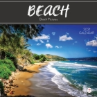 2021 Beach Calendar: Beach Landscape Images Theme Mini 8.5 x 8.5 12 Month Calendar Planner For Home Office or On The Go Cover Image