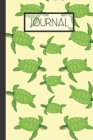 Journal: Sea Turtle Lined 120 Journal (6