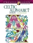 Creative Haven Celtic Alphabet Designs Coloring Book Cover Image