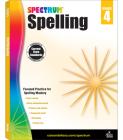 Spectrum Spelling, Grade 4 Cover Image