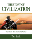 The Story of Civilization: Volume II - The Medieval World Test Book Cover Image