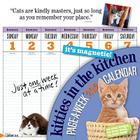 Kitties in the Kitchen 2012 Calendar Cover Image