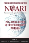 2017 Annual Report of Top Cyber Security Incidents Cover Image