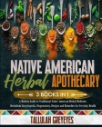 Native American Herbal Apothecary: A Modern Guide to Traditional Native American Herbal Medicine. Herbalism Encyclopedia, Dispensatory, Recipes and Re Cover Image