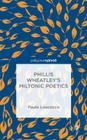 Phillis Wheatley's Miltonic Poetics Cover Image