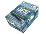 Essential GRE Vocabulary, 2nd Edition: Flashcards + Online: 500 Essential Vocabulary Words to Help Boost Your GRE Score (Graduate School Test Preparation) Cover Image
